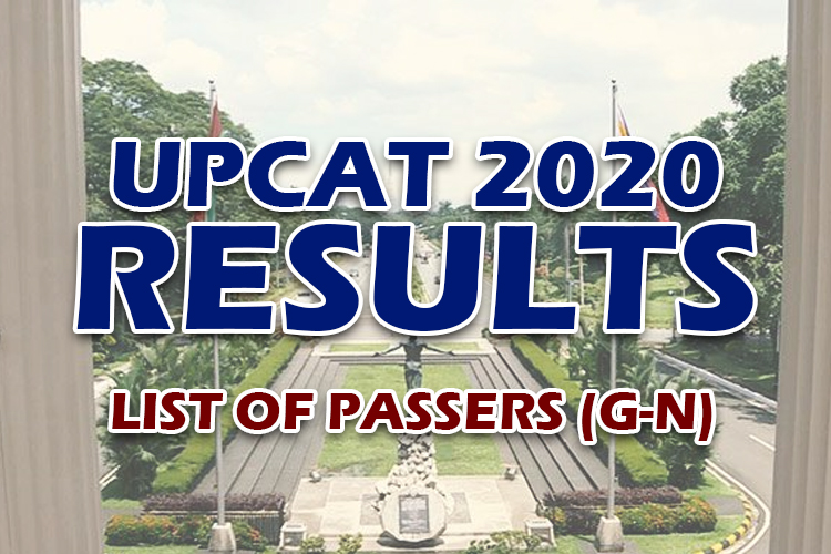 UPCAT 2020 Results