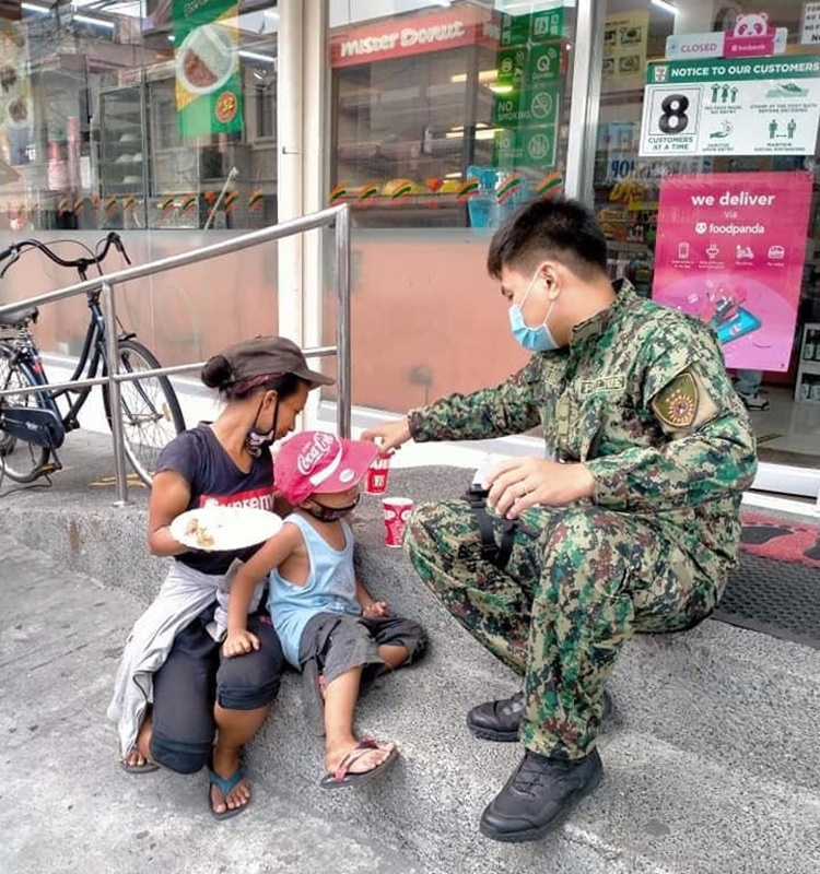 Kind-Hearted Cop