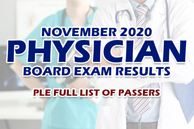 PLE Results November 2020 Full List