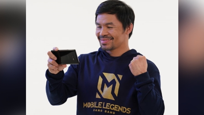 Manny Pacquiao to Donate 'Mobile Legends' Talent Fee to Typhoon Victims