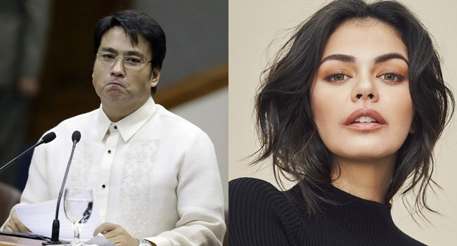 Bong Revilla Message to Younger Stars: A 'Patama' to Janine Gutierrez?