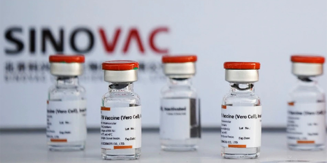 China approved the emergency use of Sinovac vaccine for 3 to 17-year-olds.