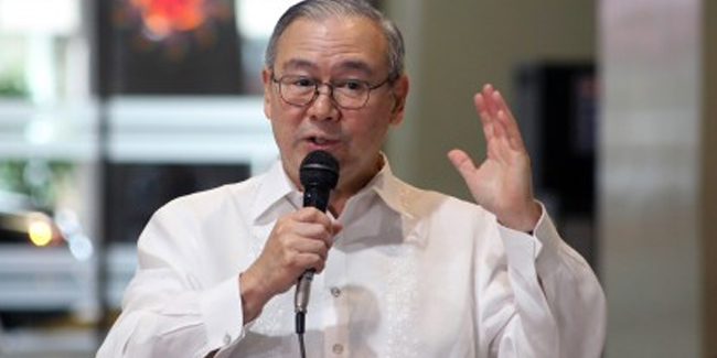 """China's delivery of donated vaccines was """"help extended"""" and """"no submission expected"""", according to DFA Sec. Teodoro Locsin Jr."""