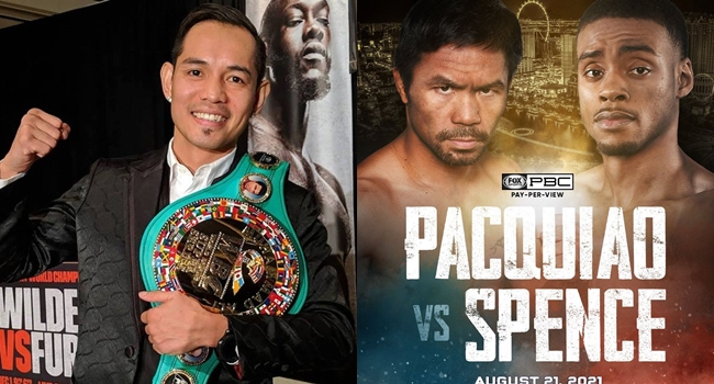 Donaire on Pacquiao vs Spence