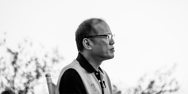 The AFP held a reveille gun salute in honor of former President Noynoy Aquino