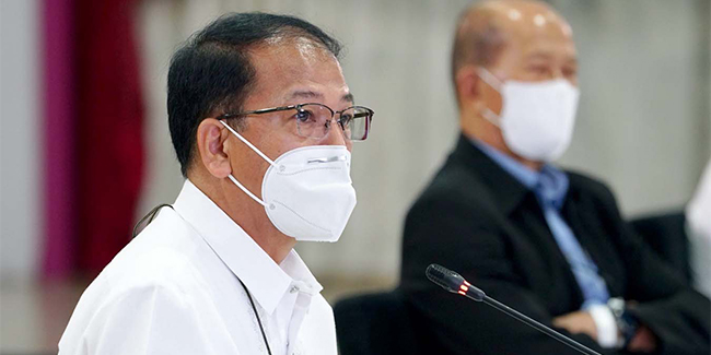 Galvez apologized to LGUs for the delayed delivery of COVID-19 vaccines caused by supply issues.