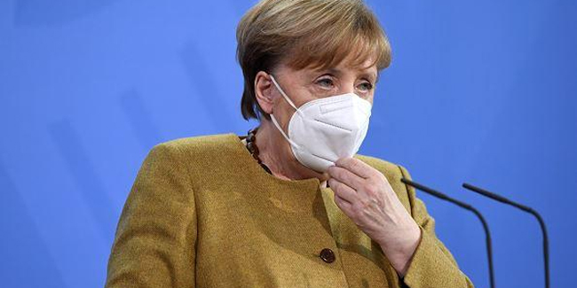 Merkel received Moderna vaccine as her second dose after receiving AstraZeneca vaccine as her first dose.