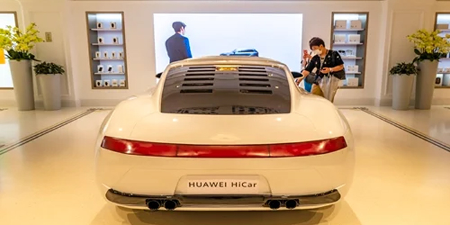 Huawei established an R&D company for electric cars and related facilities.