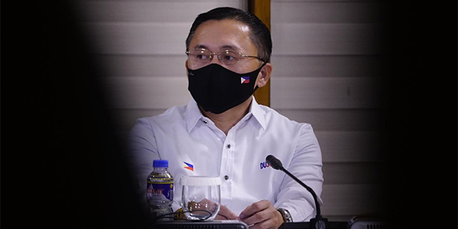 Senator Go reiterated that he's not interested in running for a higher position in the upcoming 2022 elections.