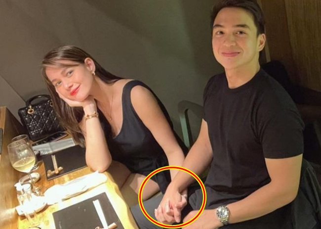 Bea Alonzo and Dominic Roque