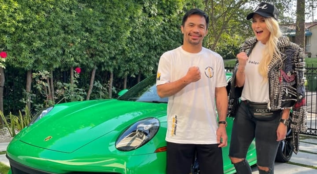 Supercar Blondie and Manny Pacquiao