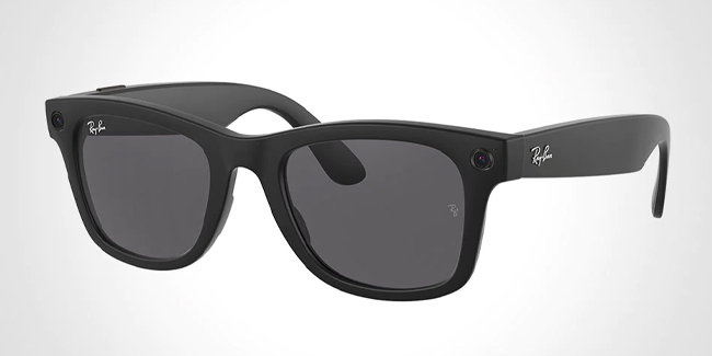 """Facebook and Ray-Ban officially launched """"Ray-Ban Stories"""" shades."""