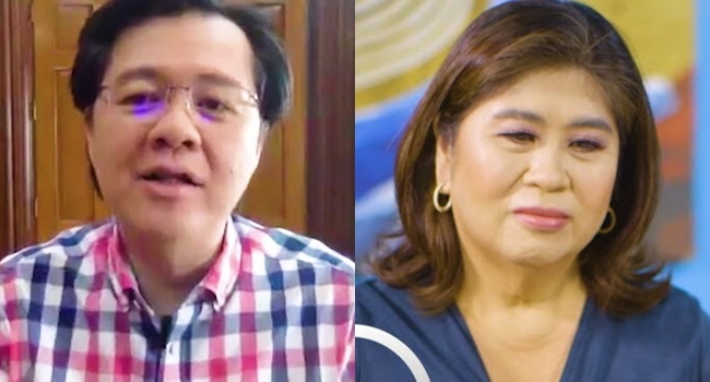 Doc Willie Ong and Jessica Soho